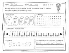 math worksheet : 1000 images about math on pinterest  multiplication word  : Number Line Multiplication Worksheet