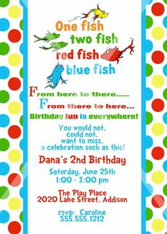 1000 images about cute stuff on pinterest dr seuss for Blue fish pediatrics