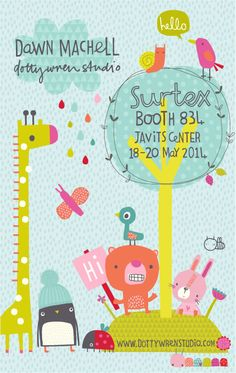 dawn machell...dottywrenstudio...surtex14