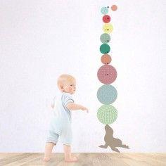 Toise sticker Otarie - Art for Kids