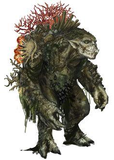 Sea Troll from Divinity: Original Sin II
