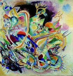Improvisation n°5, par Wassily Kandinsky - 1914