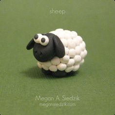 polymer+clay+animals | Polymer Clay Sheep | Flickr - Photo Sharing!: