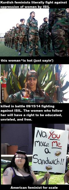 Now this is what I call equality and a feminist can hugely respect!!!! Let these women be an example to western women!!! | Feminists can be AWESOME too.