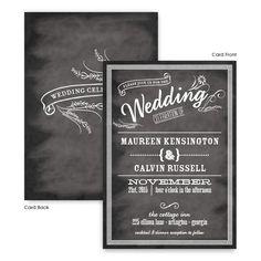 Margo Wedding Invitations by TheAmericanWedding.com