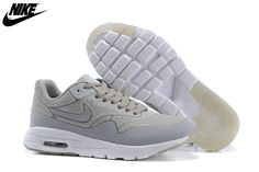 great fit fa451 ff396 Womens Nike Air Max 1 Ultra Moire CH Shoes Light Grey 704995-002,Wholesale