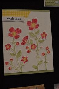 wildflower meadow stampin up - Google Search