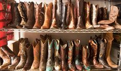 There are certain things only a cowboy boot lover can understand.