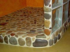 ducha de piedras