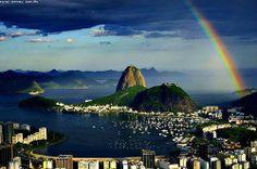 Rio Brasil rainbow