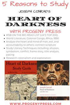 5 Reasons To Study Heart Of Darkness By Joseph Conrad Progeny Press Guides