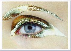 Bold gold.  MILES ALDRIDGE, VOGUE NIPPON JANUARY 2007 BOLD GOLD: hyper-bright, aldridge-style.