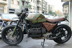 BMW  'K'ustomized... Cafe Racer For Sale, Custom Cafe Racer, Bmw Cafe Racer, Cafe Racer Motorcycle, Cafe Racers, Bultaco Motorcycles, Custom Motorcycles, Custom Bikes, Bmw R9