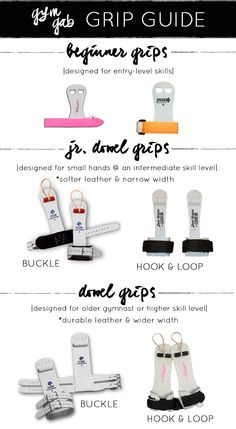 Information to help in the purchasing of gymnastics grips | Grip Guide | Gym Gab