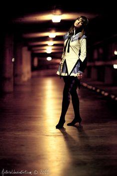 Puella Magi Madoka Magica - Homura Akemi I by fiathriel on DeviantArt Night Street Photography, Park Photography, Portrait Photography, Portrait Inspiration, Photoshoot Inspiration, Rooftop Photoshoot, Shooting Photo, Night Photos, Senior Girls