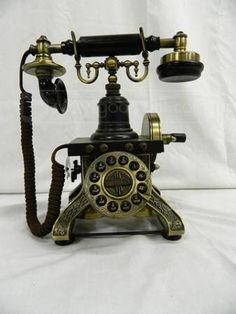 Vintage Crosley Telephone (currently for sale through Goodwill's website- auction ends 11/1/12)