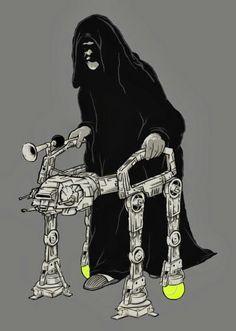 The emperor's walker.