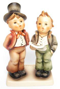 "MI Hummel Goebel Figurine ""Duet"" Hum 130 TMK 6 (1979-1991) with Original Box"