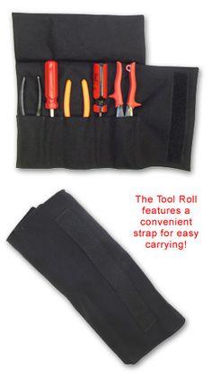 TFS: Firefighter 5 Pocket Nylon Tool Roll