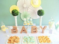 decoracao cha de bebe