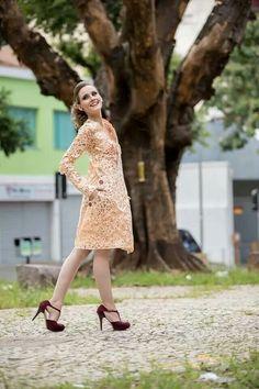 Vestido de papel Iáskara Isadora Foto: Nilson Domingos