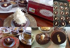 Le blog de Cata: Muffins/Cupcakes aux deux chocolats Muffins, Cupcakes, Cata, Blog, Breakfast, Desserts, Madeleine, Cooking Recipes, Food