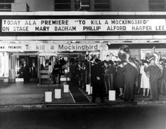 """The latest special edition of LIFE, The Enduring Power of """"To Kill a Mockingbird,"""" takes a behind-the-scenes look at the filming of the classic movie. Here, a sneak peek courtesy of our friends at LIFE. Mary Badham, Atticus Finch, Harper Lee, To Kill A Mockingbird, Music Composers, First Novel, World Famous, We Remember, American Idol"""
