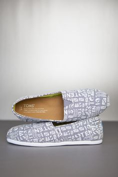 Limited edition 10 year classics for 10 years of TOMS Shoes.