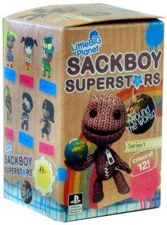 Little Big Planet Sackboy Superstars Series 1 Random Blind Box (1 Figure) *FREE SHIPPING*