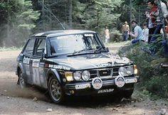 saab 99 turbo rally | Stig Blomqvist i Björn Cederberg – Saab 99 Turbo.