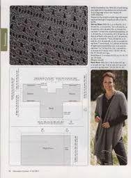 Resultado de imagen para como hacer una manta ruana