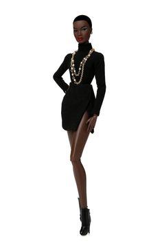 Nadja Rhymes (Out of Sight) Barbie Blog, Barbie And Ken, Barbie Dolls, Fashion Royalty Dolls, Fashion Dolls, Afro, African American Dolls, African Dolls, Diva Dolls
