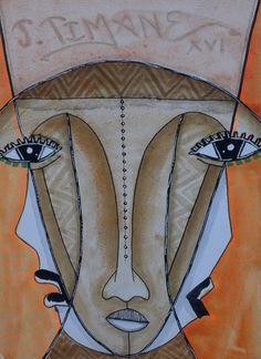 Arte de João Timane   Arte de João Timane, Moçambique. .     . . . .     . . . .           Arte Artista Moçambique  Pintura  Ilustrações  Illustrator  Ilustrar  Desenho drawing Artista Colorir Cores  África Pincel Acrílico Acrilix Oil Óleo  Malangatana João Timane  Mural Arte digital Cartaz CCapa para livro Revista Cultura Belas artes Fine até Fim der artist Painting