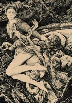 'Na Pogoste' by Vania Zouravliov. (Click for full size.)