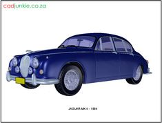 3D Vehicle: Jaguar MK II - 1964 CAD Format: AutoCAD 2013 Block Type: 3D Mesh Units: mm Autocad, Henning Larsen, Media Room Design, 3d Mesh, Mobile Home Decorating, Cad Blocks, Concept Diagram, Architecture Portfolio, Futuristic Architecture