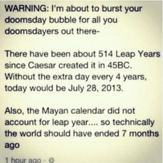 Sorry preppers...