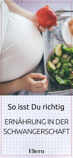 Diet in pregnancy: So you eat right - Schwangerschaft - Pregnant Tips Diet In Pregnancy, Pregnancy Tips, Pregnancy Nutrition, Going Vegetarian, Preparing For Baby, Pregnant Mom, Super Healthy Recipes, Kids Health, Baby Health