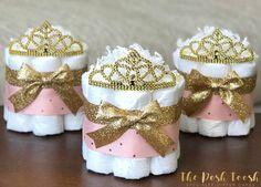 Gâteau de couches de princesse Baby Shower Decor maîtresse