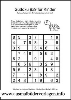 24 best SUDOKU images on Pinterest | Free coloring pages, Road