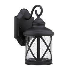 Found it at Wayfair - Chloe Lighting Milania Adora 1 Light Outdoor Wall Lantern Black Outdoor Wall Lights, Outdoor Barn Lighting, Outdoor Wall Lantern, Porch Lighting, Exterior Lighting, Wall Sconce Lighting, Outdoor Walls, Lighting Ideas, Cabin Lighting