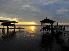 Seneca Lake dock
