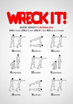 Wreck It! Workout