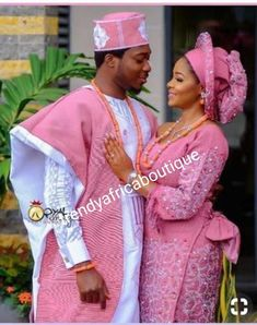 Aso Oke outfit for couples/African women's clothing / African fashion/ wedding suit/ elegant women outfit /Special event dress Nigerian Wedding Dresses Traditional, Traditional Wedding Attire, African Traditional Dresses, Traditional Weddings, African Lace Dresses, African Fashion Dresses, Couples African Outfits, Wedding Suit Styles, African Wedding Attire