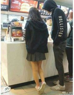 Cute Relationship Goals, Cute Relationships, Korean Couple, Korean Girl, Cute Couples Goals, Couple Goals, Emo Couples, Mode Emo, Grunge Couple