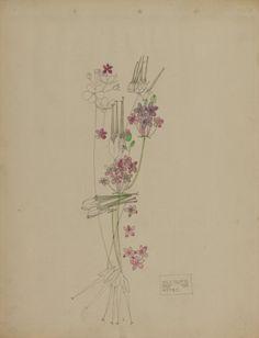 Charles Rennie Mackintosh, Stork's-bill, 1901