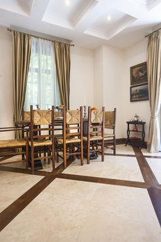 Travertine, Natural Stones, Room Decor, Curtains, Decorating, Living Room, Inspiration, Furniture, Home