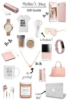 mother's day gift ideas mother's day gift guide gift guide mothers moms - March 10 2019 at Diy Gifts For Mom, Gifts For Girls, Gift Ideas For Women, Christmas Gifts For Mom, Teen Girl Gifts, Christmas Present Ideas For Mom, Christmas Gift Ideas For Teenage Girl, Holiday Gifts, Unique Gifts For Women