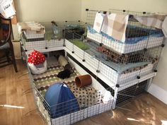 unique home made guinea pig cages | Member Gallery: C&C cages/homemade cages - Page 7