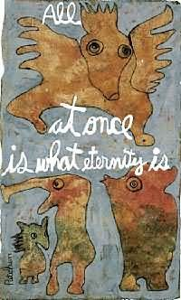 Picture of artwork by poet Kenneth Patchen; twentieth century American Literature and poetry