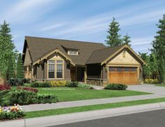 One of my favorite home designs: Mascord Plan 1103BA - The Granville